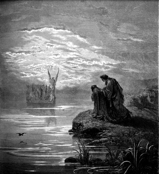 Gustave Doré Illustration - Purgatorio Canto 2, 27
