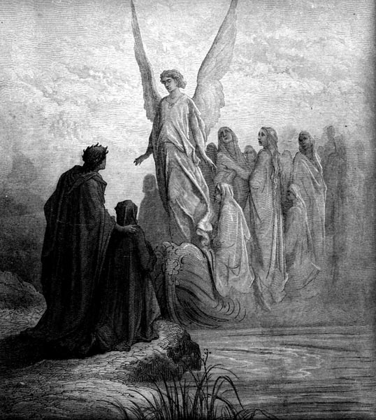 Gustave Doré Illustration - Purgatorio Canto 2, 42