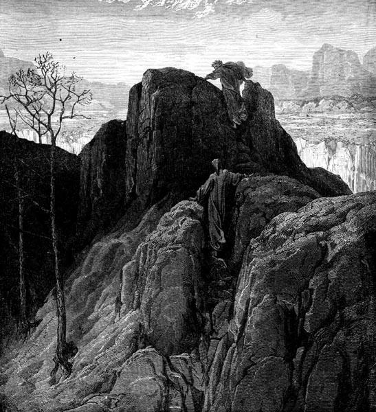 Gustave Doré Illustration - Purgatorio Canto 4, 31