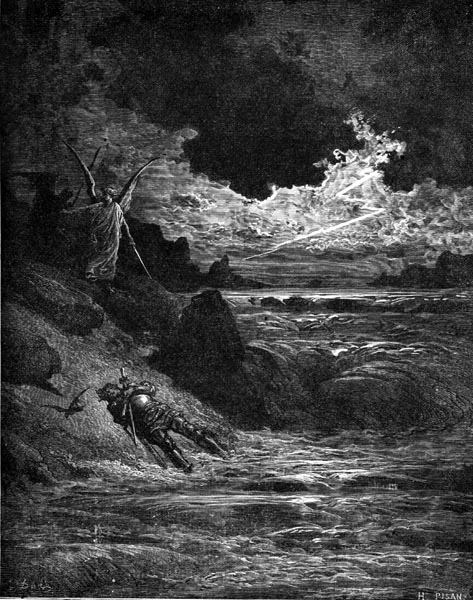 Gustave Doré Illustration - Purgatorio Canto 5, 123