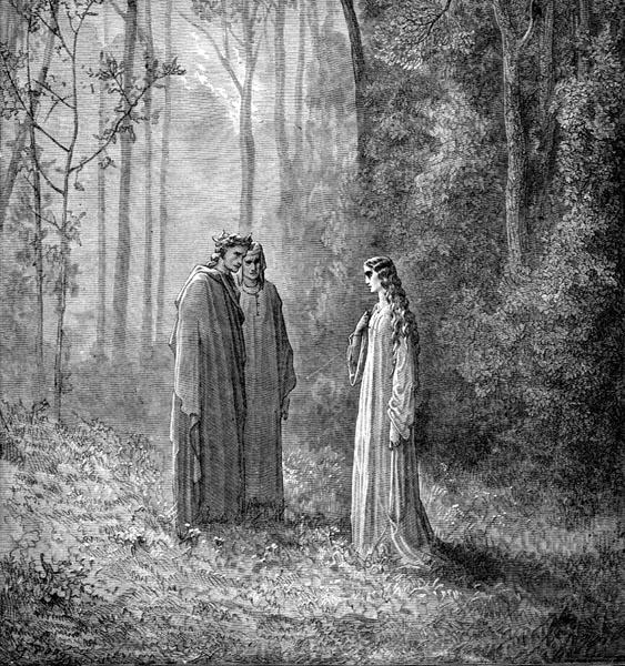 Gustave Doré Illustration - Purgatorio Canto 5, 130
