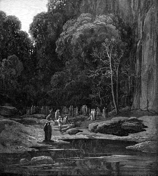 Gustave Doré Illustration - Purgatorio Canto 5, 42