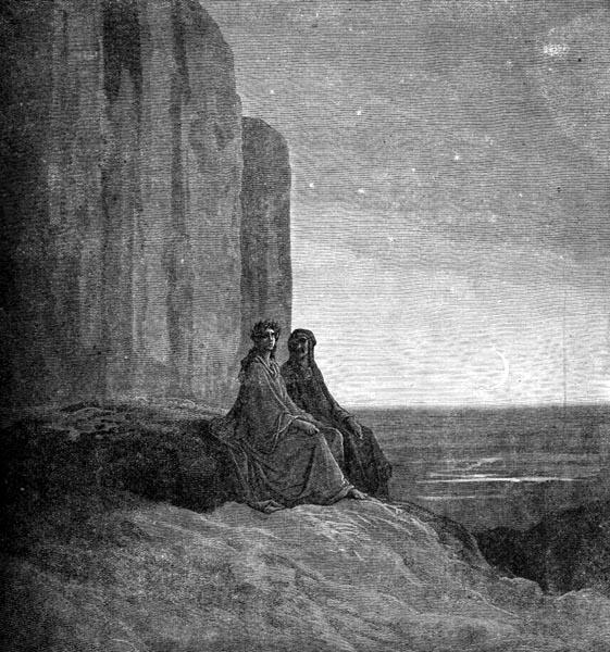 purgatorio cliff notes