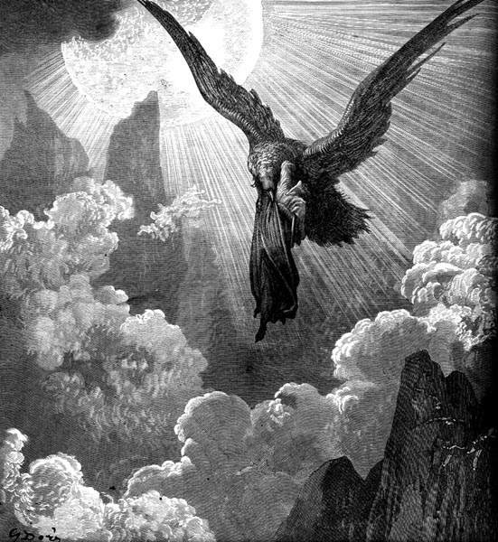 Gustave Doré Illustration - Purgatorio Canto 9, 29