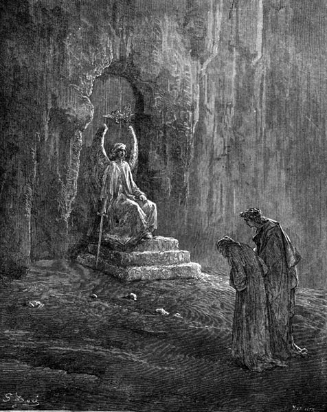 Gustave Doré Illustration - Purgatorio Canto 9, 74