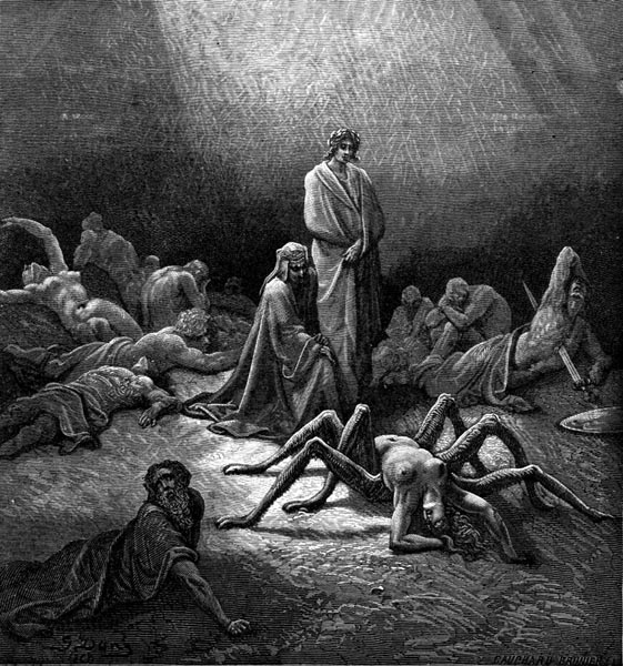 Gustave Doré Illustration - Purgatorio Canto 12, 39