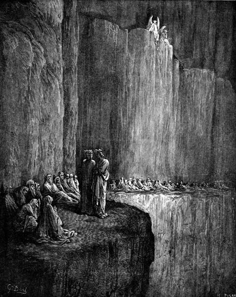 Gustave Doré Illustration - Purgatorio Canto 13, 129