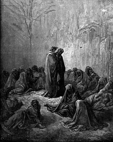 Gustave Doré Illustration - Purgatorio Canto 13, 55