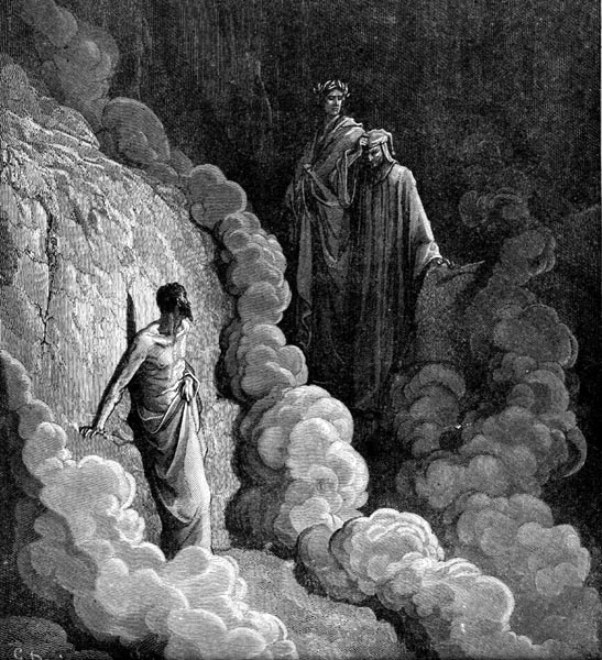 Gustave Doré Illustration - Purgatorio Canto 16, 23