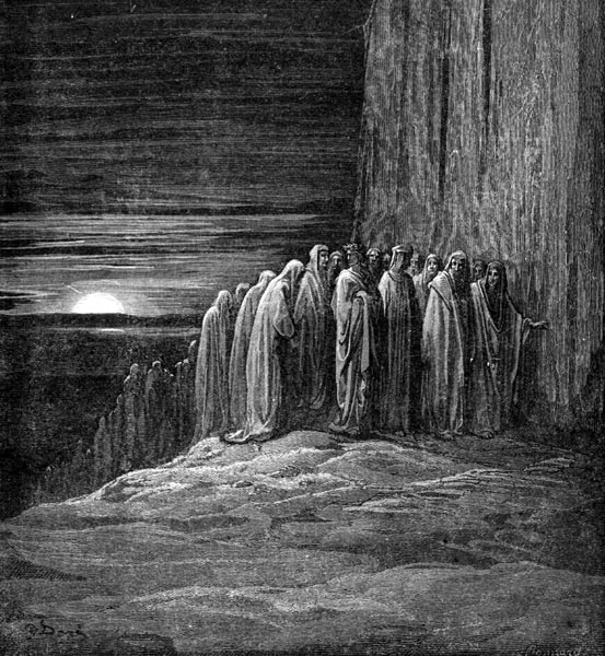 Gustave Doré Illustration - Purgatorio Canto 18, 87