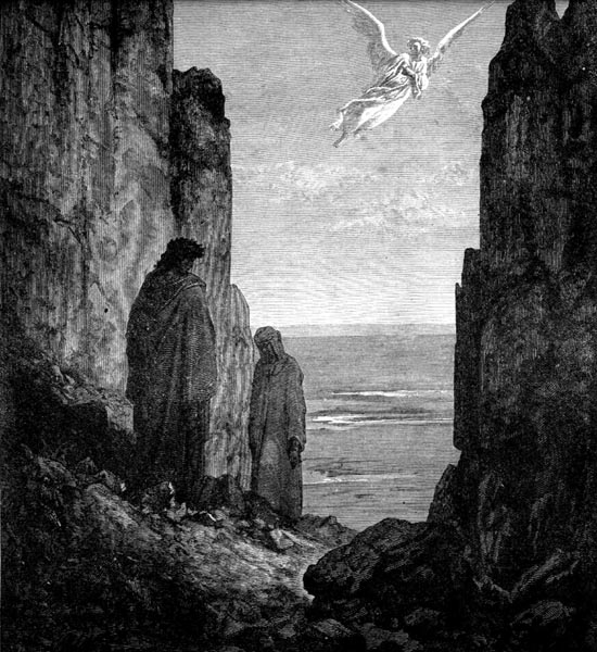 Gustave Doré Illustration - Purgatorio Canto 19, 51