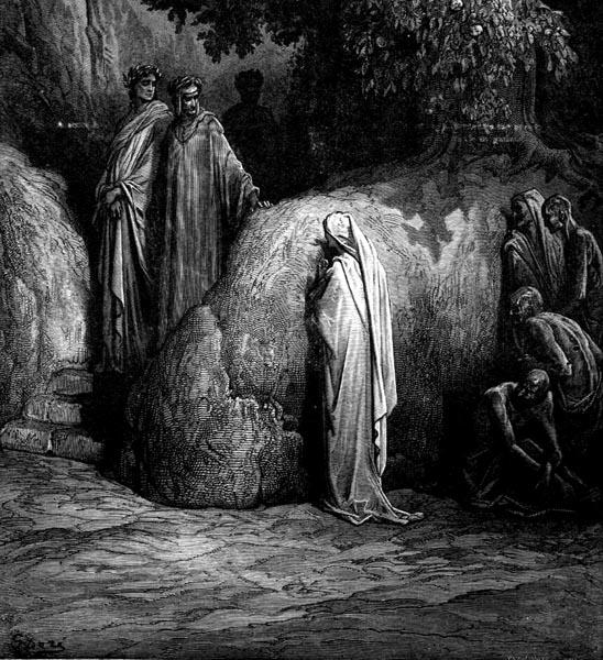 Gustave Doré Illustration - Purgatorio Canto 23, 47