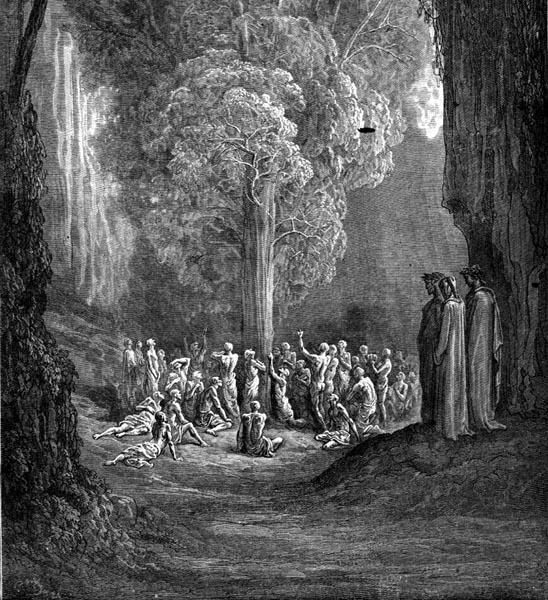 Gustave Doré Illustration - Purgatorio Canto 24, 112