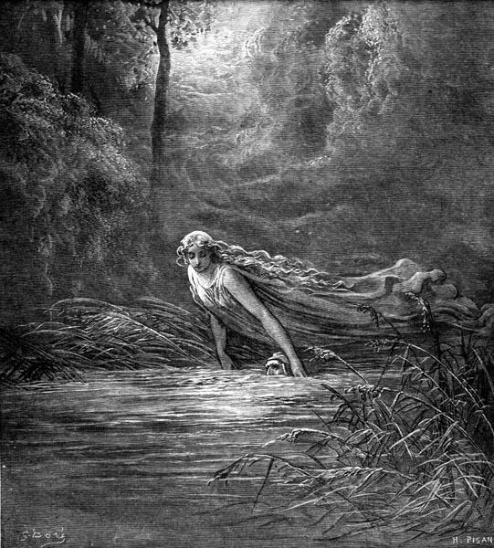 Gustave Doré Illustration - Purgatorio Canto 31, 100
