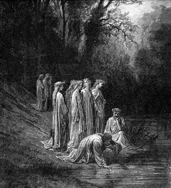 Gustave Doré Illustration - Purgatorio Canto 33, 134