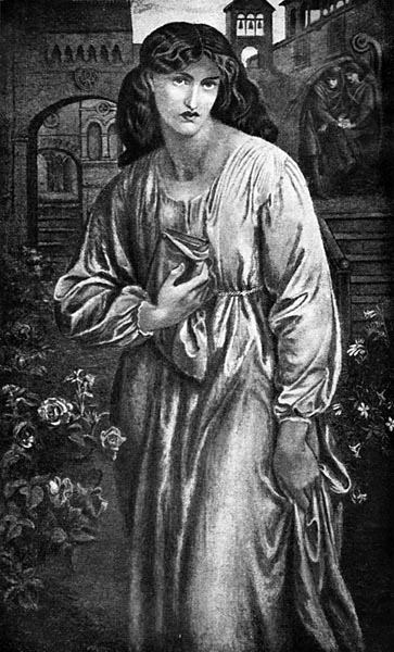 The Salutation of Beatrice, Dante Gabriel Rossetti