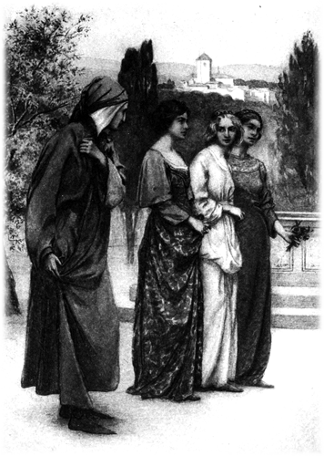 Frontispiece of the Dante Gabriel Rossetti translation