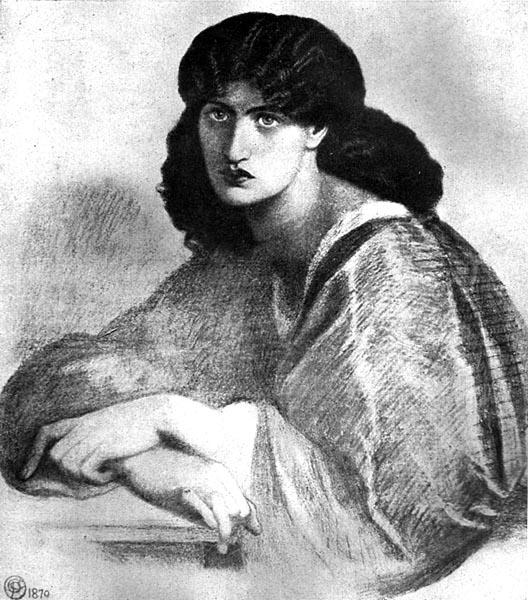 The Lady at the Window, Dante Gabriel Rossetti
