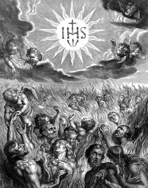 Purgatorio Frontis