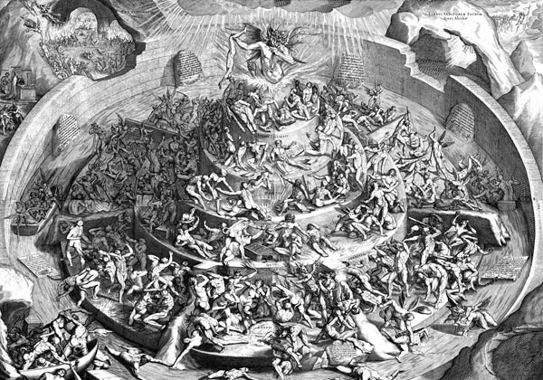 Dante alighieri and his biased inferno