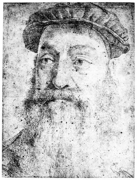 Study for the Portrait of Stefano Colonna, Agnolo di Cosimo