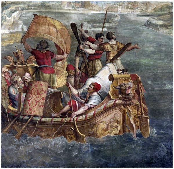 Landing of Scipio Africanus at Carthage, Anonymous