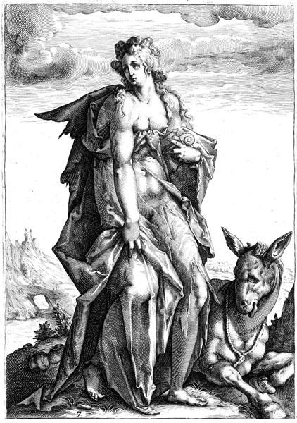 Idleness (Acedia), Hendrick Goltzius