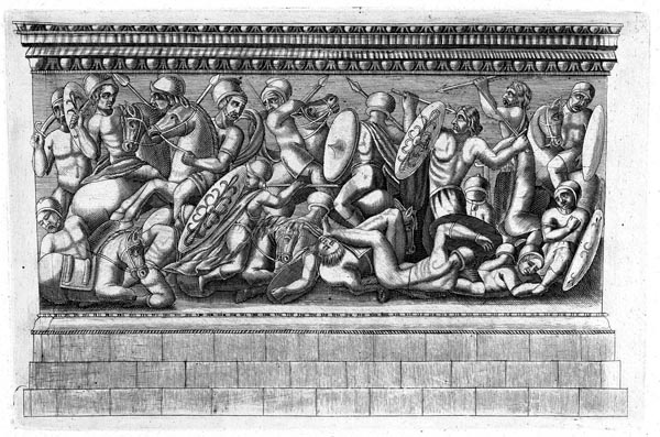 The Battle Won by Gaius Marius Against the Ambrones and Teutones, J. Baugin