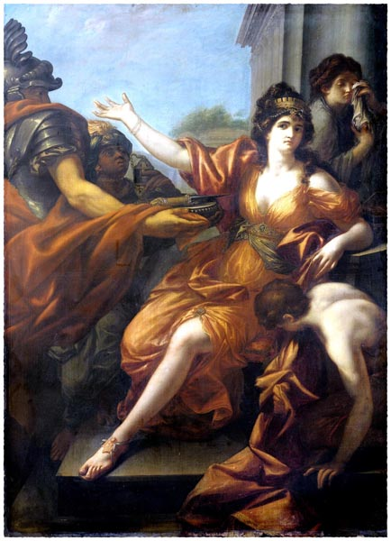 Suicide of Queen Dido, Anonymous
