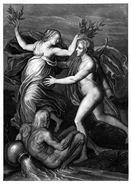 Apollo and Daphne, Pieter van Gunst