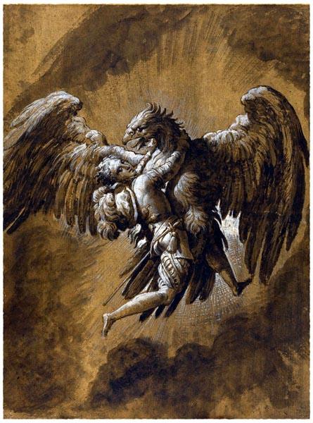 The Rape of Ganymede, Niccolò dell' Abate