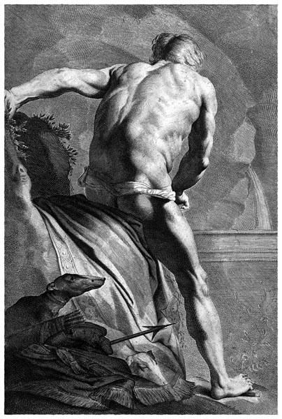 Narcissus at the Fountain, Cornelis van Dalen (II)