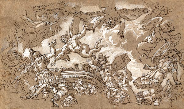 The Harpies Attacking Aeneas and His Companions