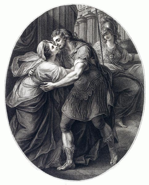 Meeting of Odysseus and Penelope