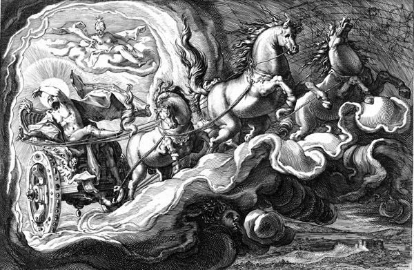 Goltzius Illustration - Phaethon and the Solar Horses