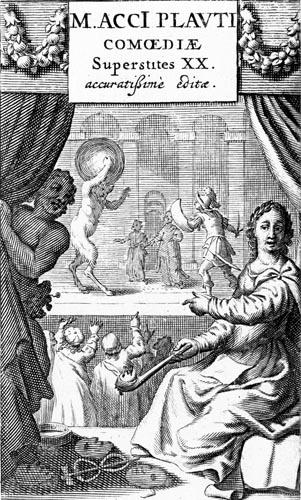 Title page for Titus Maccius Plautus, Comoediae Superstites XX, 1652
