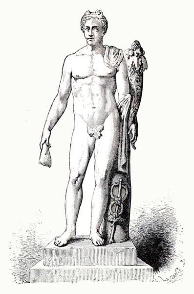 Manilus as Mercury