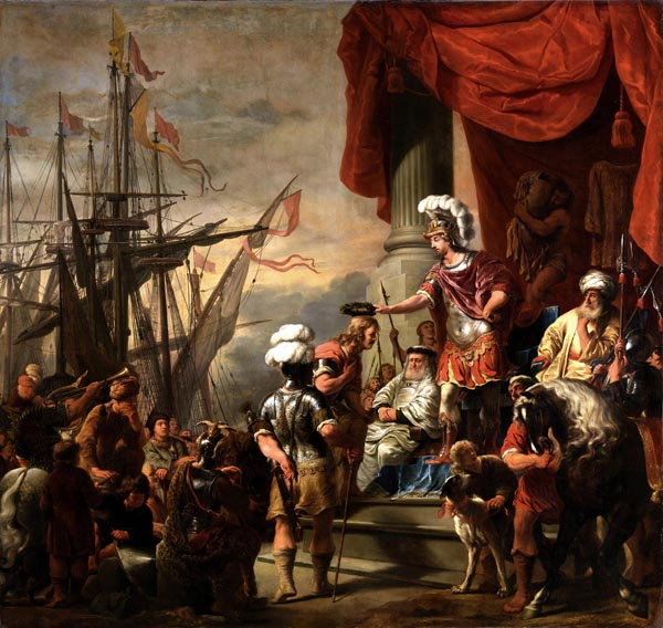 Aeneas at the Court of Latinus, Ferdinand Bol