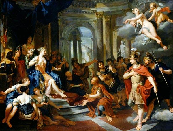 Dido and Aeneas, Nicolas Verkolye