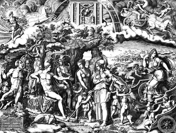 The Judgement of Paris, Giorgio Ghisi