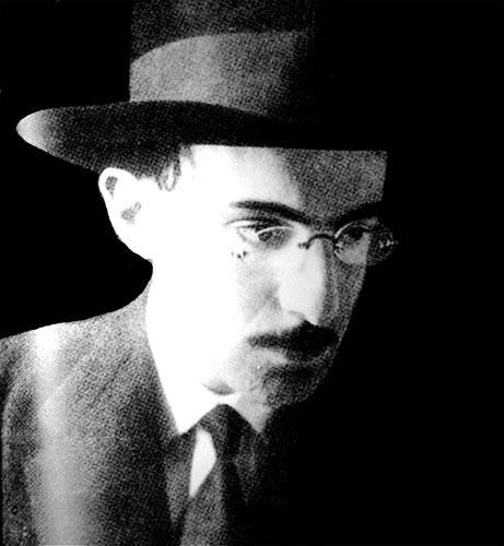 Photograph of Fernando Pessoa
