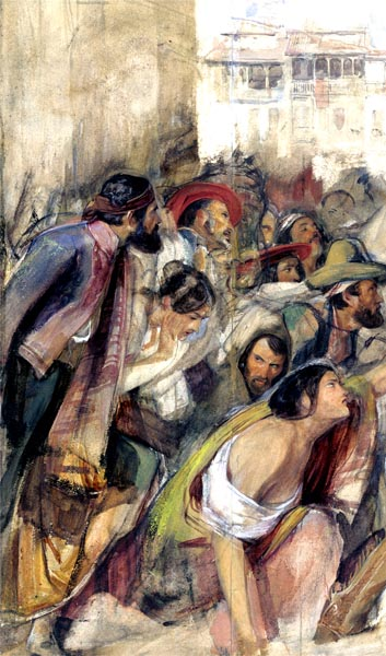 Study for the Proclamation of Don Carlos