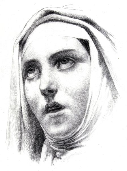 Head of a Nun