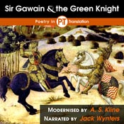 Sir Gawain and the Green Knight - Audiobook Cover Image
