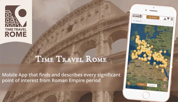 Time Travel Rome App
